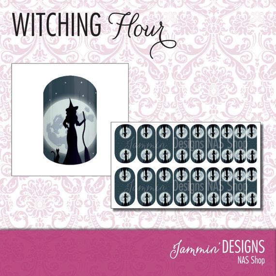 Witching Hour NAS (Nail Art Studio) Design