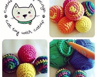 Amigurumi Catnip toys