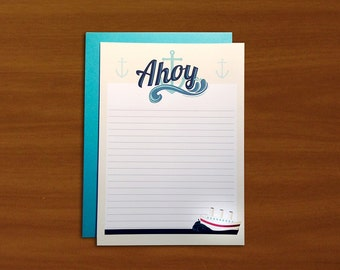 Ahoy - 10 pack stationery