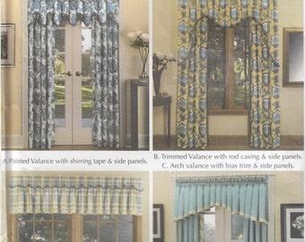Simplicity 5532 Window Decor Sewing Pattern - Window Treatments Sewing Pattern - Home Decor Sewing Pattern - Uncut Sewing Pattern