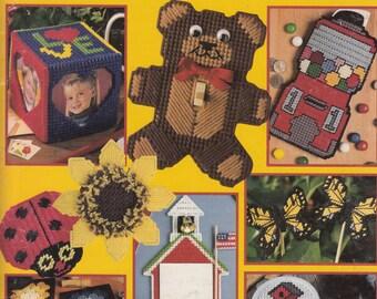 Plastic Canvas Bazaar Projects Patterns - Plastic Canvas Patterns for Accessories - Plastic Canvas Pattern Book