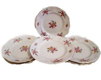 Polish Favolina Dessert Plates, S/6