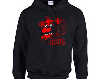 Five Nights at Freddy's Game Over Hoodie Hoody