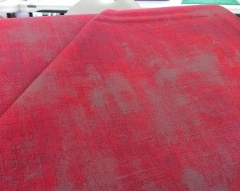 Moda 30150 82 Grunge burnt red with gray