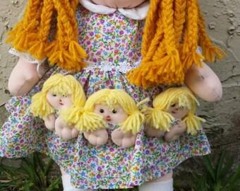 Rag Doll for girl han made, for girl