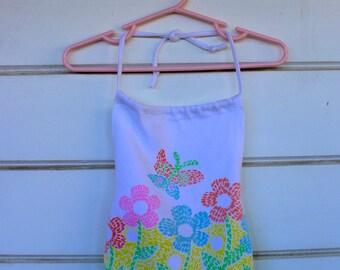 Vintage Little Girls Swimwear