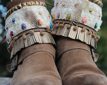 Ethnic Boot Covers. For woman and kid