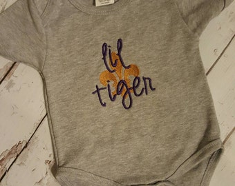 Lsu Tigers!! Lil tiger can add name if needed!! FREE SHIPPING