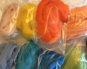 10g of Merino Wool Roving