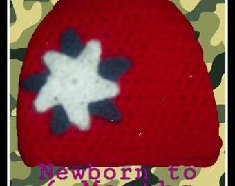 USA Hat or Beanie Newborn to 6 Months