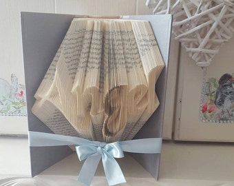 Angel Book Folding Pattern with tutorial. DIY. Make your own Gift. Please read Item Details. PDF Files only.