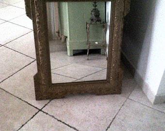 mirror very old, antique, vintage