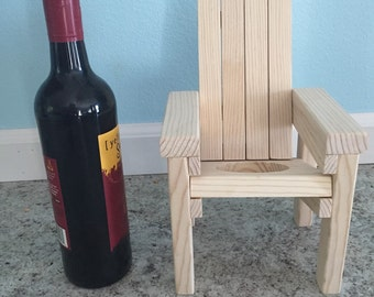 Lawn Chair Wine Bottle Holder