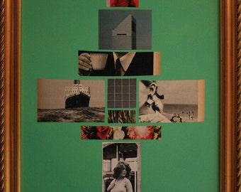 """Love story  21"""" x 16"""" mixed media art"""