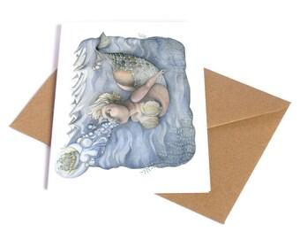 Mermistress | Greeting Card