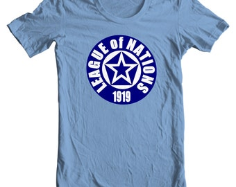 League of Nations Logo History T-shirt