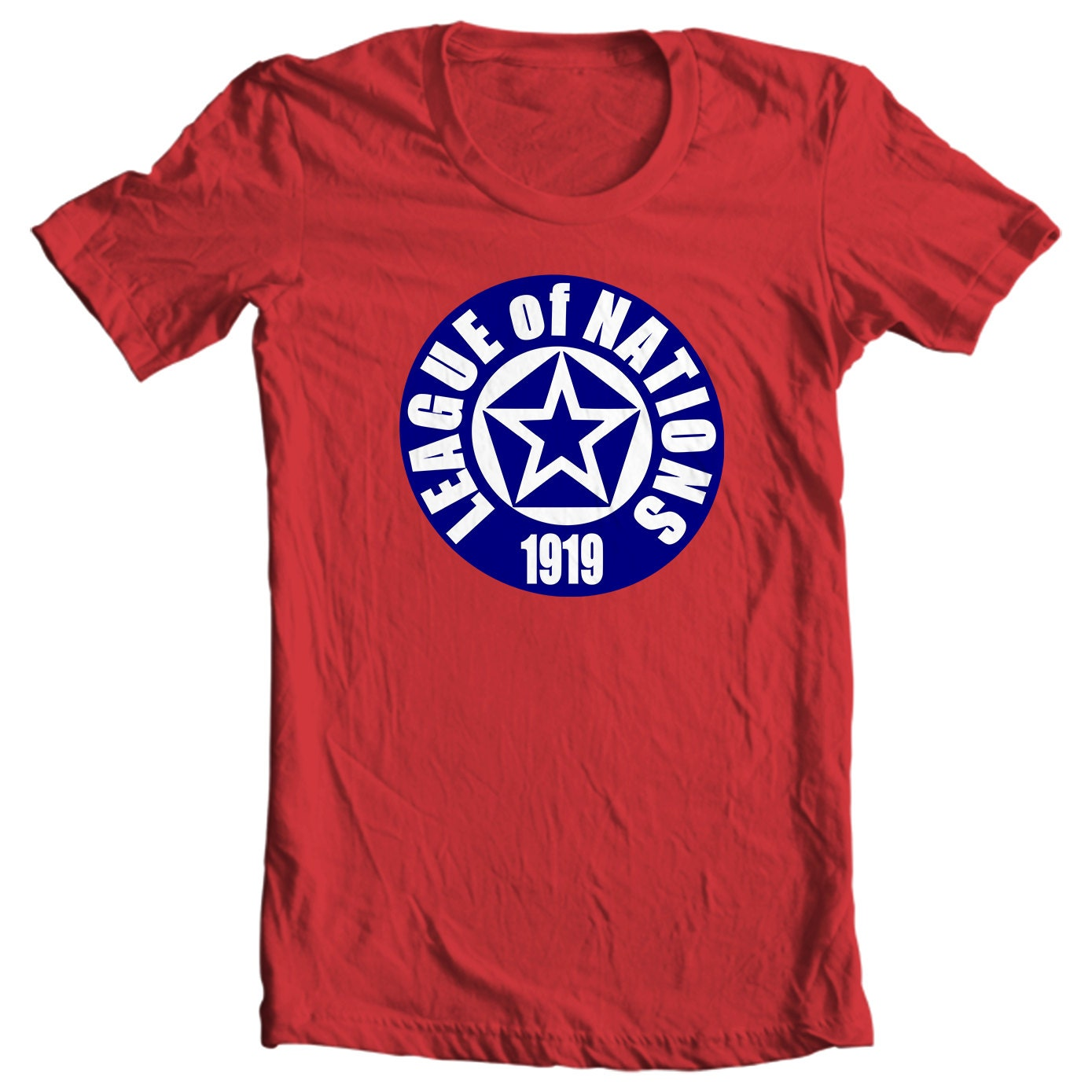 League of Nations Logo History T-shirt