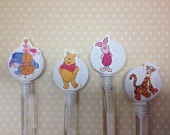 Winnie The Pooh Party Favor Bubbles - Set of 10