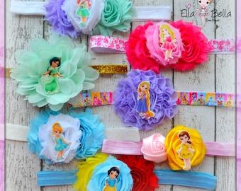 Princess headband collection