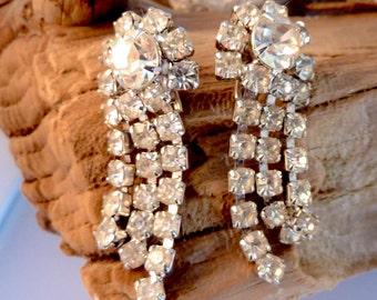 Crystal Earrings Chandelier Earrings