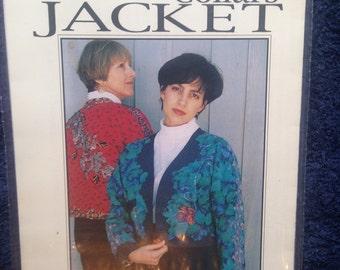 Reversible Jacket Sewing Pattern.  Women XXSM - XLG