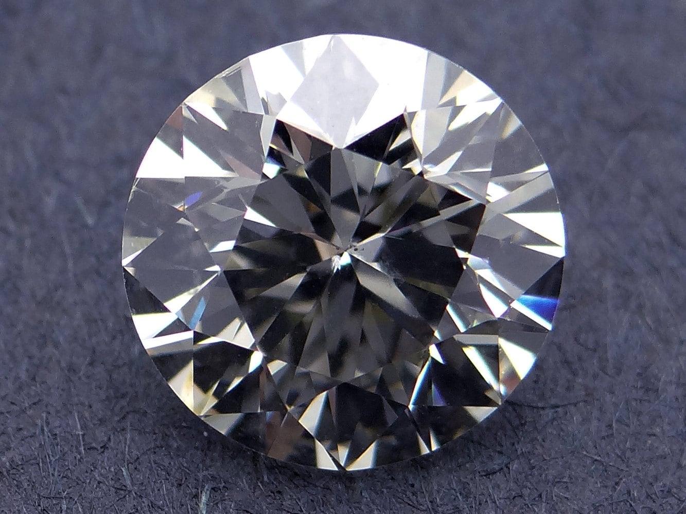 GIA Certified Loose 2.02ct Round Brilliant Cut Diamond N SI1