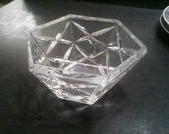 Crystal bowl by Cristal d Arques