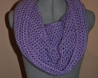 Crochet Bulky Winter Scarf