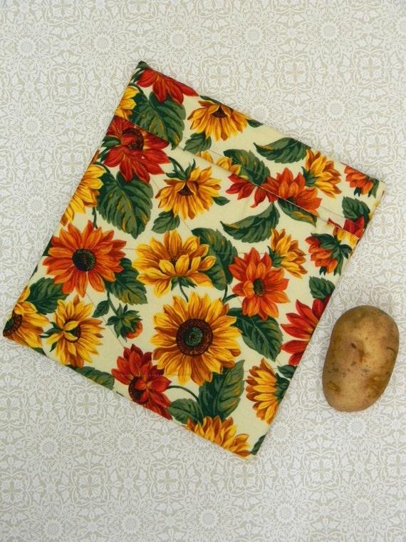 Microwave Potato Bag Fabric Baker Vegetable Cooking Warmer