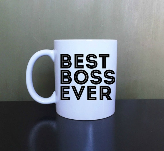 Best Boss Ever Coffee Mug Tea Mug Gift Mug By