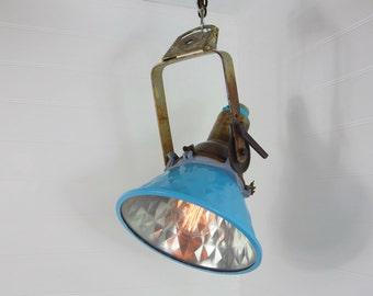 Arcadia Upcycled Floodlight Pendant Light