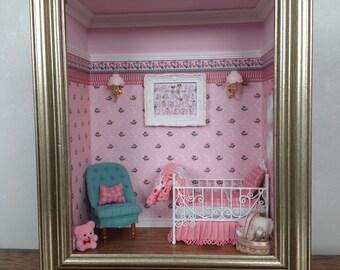Baby Girl Roombox Gift Present