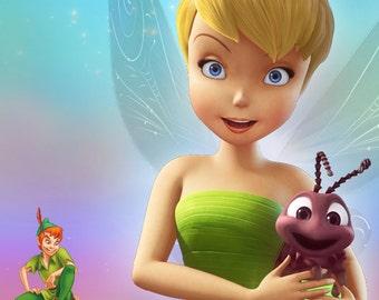 Tinker Bell Printable Children Birthday Party Invitation - il_340x270.816141934_fdvg