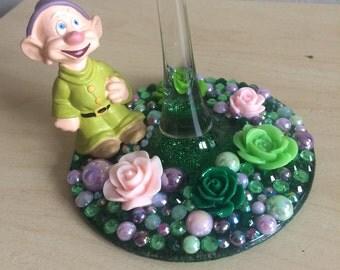 Disney Snow White Dopey Wine Glass