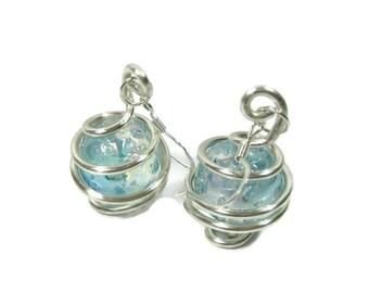 Gazing Globe Earrings