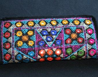 portfolio ethnic tribal pouch purse banjara india boho azulcasinegro rabari