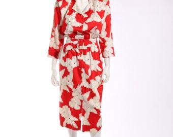 1980s Courreges Poppy Dress
