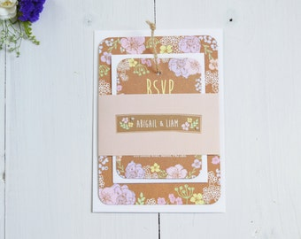 Pretty in Pastel Wedding Invitation Bundles