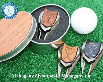 Personalized Golf Ball Marker and Divot Tool Groom Groomsman Guy Graduation Best Man Groomsmen Boyfriend Son Husband Father's Day Dad Gift