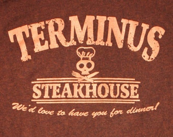 Walking Dead T-Shirt - Terminus Steakhouse