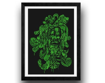 Bob Marley Art Print, reggae art poster, bob marley fan poster, reggae fan art, marley print, bob marley, graffiti art, wall art, home decor