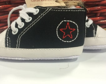 Star Custom Design, Embroidery ADD-ON, Baby shower gift, Personalized Baby Shoe, Custom Toddler shoe, Embroidered Baby Shoe, Infant shoe