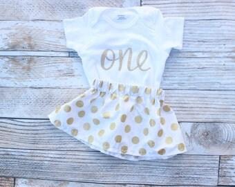 First Birthday Outfit, Girls Birthday, Baby twirl skirt, 1st birthday outfit, toddler birthday