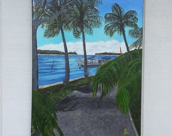 Original Painting - Landscape Painting - Noosa Painting