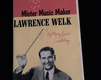 "Autobiography of Lawrence Welk-  ""Mister Music Maker""   VG1714"