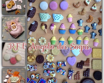 Let's Magnetize / Magnets / Ice cream / Hearts / Collect them all / Biscuits / Figurines / Breakfast