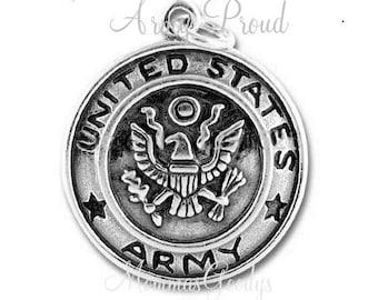 ARMY Dangle Charm Pendant