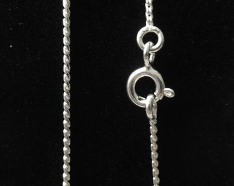 925 silver chain with clasp 40.5 cm NSC0126-16