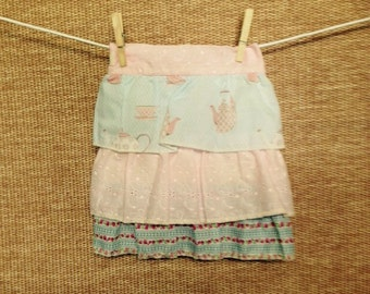 Girl's Triple Frill tea party apron