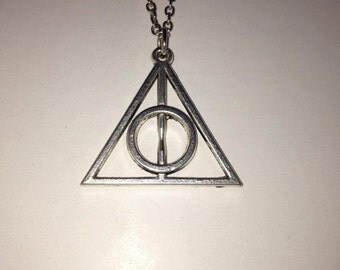 Harry Potter: Deathly Hallows keychain or necklace